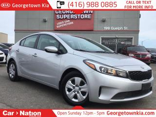 Used 2017 Kia Forte LX | BLUETOOTH | POWER GROUP | FULL WARRANTY | for sale in Georgetown, ON