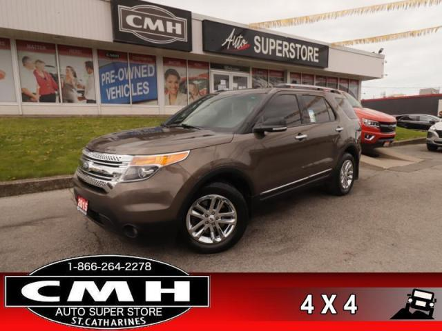 2015 Ford Explorer XLT  LEATH P/SEAT HS BS CAM P/GATE TOW