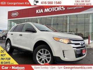 Used 2013 Ford Edge SE | ALLOY WHEELS | BLUETOOTH | SIRIUS RADIO | for sale in Georgetown, ON