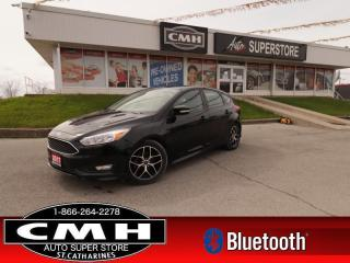 Used 2017 Ford Focus SE Hatch  REAR-CAMERA HTD-SEATS BT HATCH for sale in St. Catharines, ON