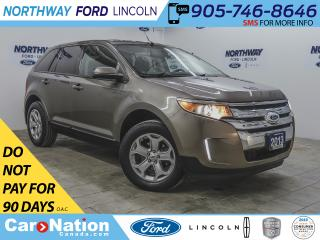 Used 2013 Ford Edge SEL | KEYLESS ENTRY | BACKUP SENSORS | SYNC | for sale in Brantford, ON