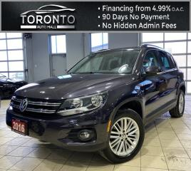 Used 2016 Volkswagen Tiguan S NAVI Back-Up Bluetooth Keyless One Owner Clean CARFAX for sale in North York, ON