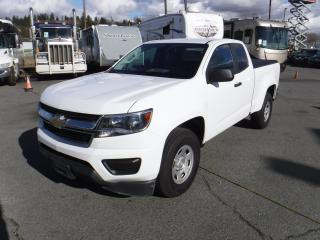 Used 2017 Chevrolet Colorado Work Truck Ext. Cab 4WD with Tonneau Cover for sale in Burnaby, BC