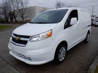 Used 2015 Chevrolet City Express 1LT Cargo Van With Rear Shelving for sale in Burnaby, BC