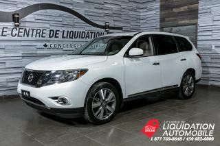 Used 2014 Nissan Pathfinder PLATINUM+AWD+GPS+CUIR+TOIT OUVRANT+BLUETOOTH for sale in Laval, QC
