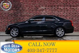 Used 2014 Cadillac ATS AWD Turbo Leather Roof BCam for sale in Red Deer, AB