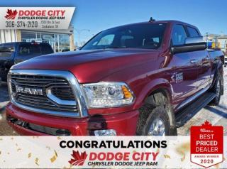 Used 2018 RAM 2500 Laramie Limited | Htd.Leather, Bup Cam, BTooth for sale in Saskatoon, SK