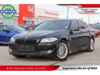 Used 2012 BMW 5 Series 4dr Sdn 535i xDrive AWD for sale in Whitby, ON