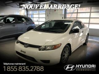 Used 2008 Honda Civic DX + A/C + MAGS + GROUPE ELECTRIQUE !! for sale in Drummondville, QC
