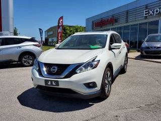 Used 2017 Nissan Murano Platinum for sale in Orillia, ON