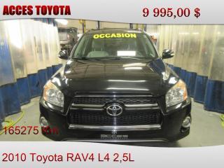 Used 2010 Toyota RAV4 4WD for sale in Rouyn-Noranda, QC