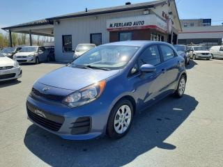 Used 2016 Kia Rio Voiture à hayon, 5 portes, boîte manuell for sale in Sherbrooke, QC