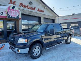 Used 2007 Ford F-150 4 RM, Super cabine multiplaces 150 po, F for sale in Sherbrooke, QC