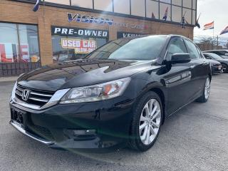 Used 2015 Honda Accord Sedan 4dr I4 CVT Touring - NAVIAGTION / POWER SUNROOF for sale in North York, ON