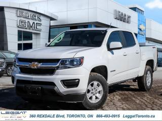 New 2020 Chevrolet Colorado 4WD Work Truck  - 7 DAY OR 250 KM EXCHANGE PROGRAM for sale in Etobicoke, ON