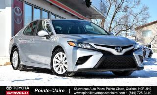 Used 2019 Toyota Camry SE APPLE CARPLAY for sale in Pointe-Claire, QC