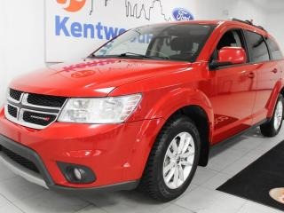 Used 2015 Dodge Journey 3 Mos Deferral!| FWD with a sunroof, rear DVD entertainment system and a back up cam for sale in Edmonton, AB