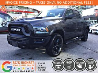 New 2020 RAM 1500 Classic Warlock for sale in Richmond, BC