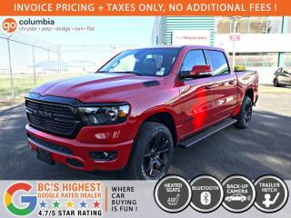 New 2020 RAM 1500 Big Horn Night Edition for sale in Richmond, BC