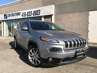 Used 2014 Jeep Cherokee Limited-NAVI-LEATHER-CAM for sale in Toronto, ON