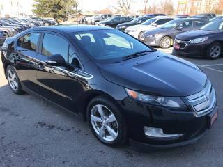 Used 2014 Chevrolet Volt PREMIUM ** NAV, BACKUP CAM, HTD LEATH ** for sale in St Catharines, ON