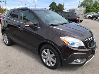 Used 2014 Buick Encore PREMIUM ** AWD, NAV, BACKUP CAM, AUTOSTART ** for sale in St Catharines, ON