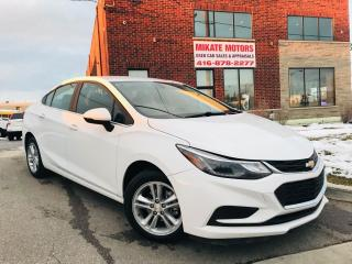 Used 2017 Chevrolet Cruze LT for sale in Rexdale, ON