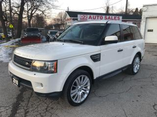 Used 2010 Land Rover Range Rover Sport LUX/Supercharged/Navi/Leather/Roof/Loaded for sale in Scarborough, ON