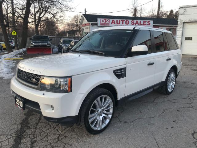 2010 Land Rover Range Rover Sport LUX/Certified/Navi/Leather/Roof/Bckup Camera