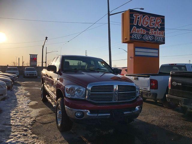 2009 Dodge Ram 2500 SLT**LEATHER**4X4**ONLY 182KM**AS IS SPECIAL