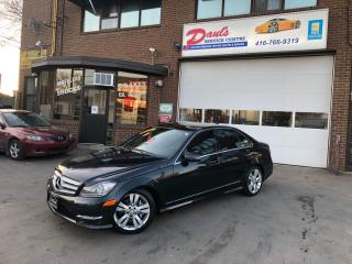 Used 2012 Mercedes-Benz C-Class C300-4MATIC-NAVI-BLUETOOTH-BACKUPCAMERA*CERTIFIED* for sale in York, ON