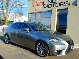 Used 2016 Lexus IS 300 Lucury.Navi.Camera.BlindSpot.ParkAssist.Only48Km for sale in Kitchener, ON