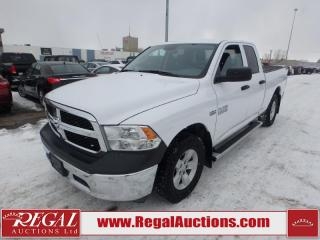 Used 2017 RAM 1500 SXT Quad CAB 4WD for sale in Calgary, AB