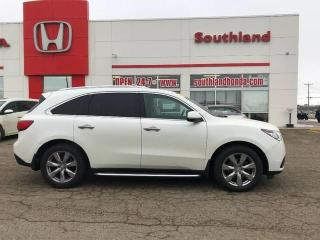 Used 2016 Acura MDX Elite Pkg for sale in Winkler, MB