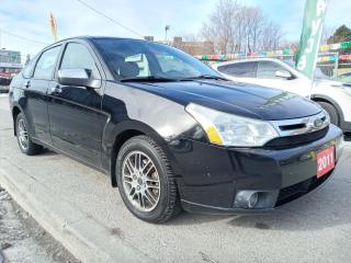 Used 2011 Ford Focus SE-EXTRA CLEAN-143K ONLY-BLUETOOTH-AUX-ALLOYS for sale in Scarborough, ON