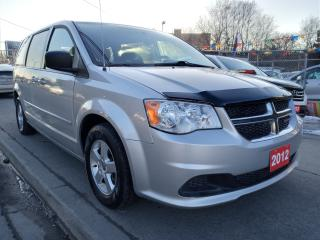 Used 2012 Dodge Grand Caravan SE- 7 SEATS-ECO-STOW N GO-BLUETOOTH-ALLOYS-AUX for sale in Scarborough, ON