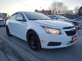 Used 2014 Chevrolet Cruze 1LT-EXTRA CLEAN-4CYL-GAS SAVER-BLUETOOTH-AUX-USB for sale in Scarborough, ON