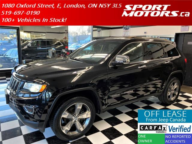 2014 Jeep Grand Cherokee Limited+GPS+Xenons+PanoRoof+NewTires+Accident Free
