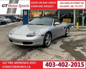 Used 2001 Porsche Boxster for sale in Calgary, AB