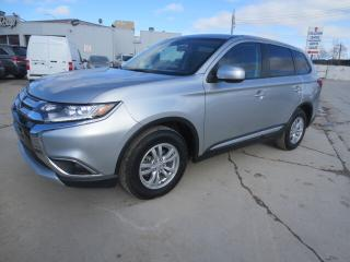 Used 2018 Mitsubishi Outlander ES AWC - Heated Seats/Bluetooth/Camera for sale in Winnipeg, MB