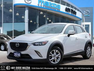 Used 2016 Mazda CX-3 GS ONE OWNER | NO ACCIDENTS | 1.99% FINANCING AVAI for sale in Mississauga, ON