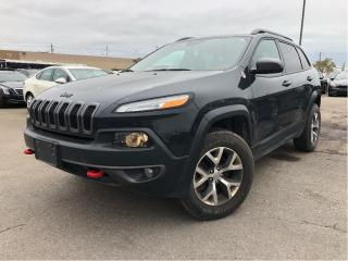 Used 2016 Jeep Cherokee 2016 Jeep Cherokee - 4WD 4dr Trailhawk for sale in St Catharines, ON