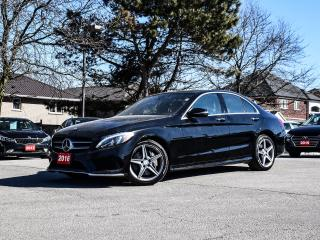 Used 2016 Mercedes-Benz C-Class 4MATIC AWD Sunroof Leather Navigation 360Camera for sale in Stoney Creek, ON