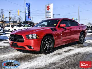 Used 2014 Dodge Charger R/T AWD ~5.7 HEMI ~Nav ~Cam ~Heated Seats + Wheel for sale in Barrie, ON