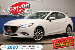 Used 2017 Mazda MAZDA3 GT (A6) 39,000 KM SUNROOF REAR CAM HTD SEATS for sale in Ottawa, ON