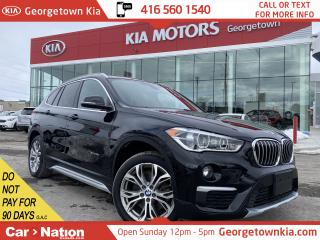 Used 2017 BMW X1 xDrive28i|CLEAN CARFAX|ONLY 30,144KMS |ROOF|BU CAM for sale in Georgetown, ON