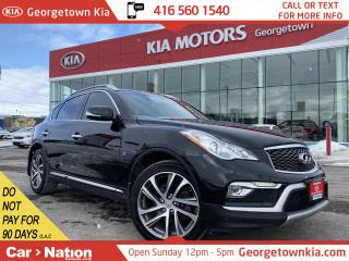 Used 2016 Infiniti QX50 AWD JOURNEY | BOSE|CLEAN CARFAX|ROOF|NAVI|BU CAM for sale in Georgetown, ON