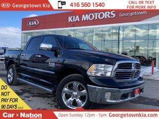 Used 2016 RAM 1500 Big Horn ECODIESEL | 4X4 | CREW| BU CAM|CHROME PKG for sale in Georgetown, ON