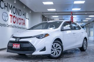 Used 2018 Toyota Corolla for sale in Richmond Hill, ON