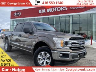Used 2018 Ford F-150 XLT | V6 | 4X4 |TINTS|CLEAN CARFAX|BU CAM|BEDLINER for sale in Georgetown, ON